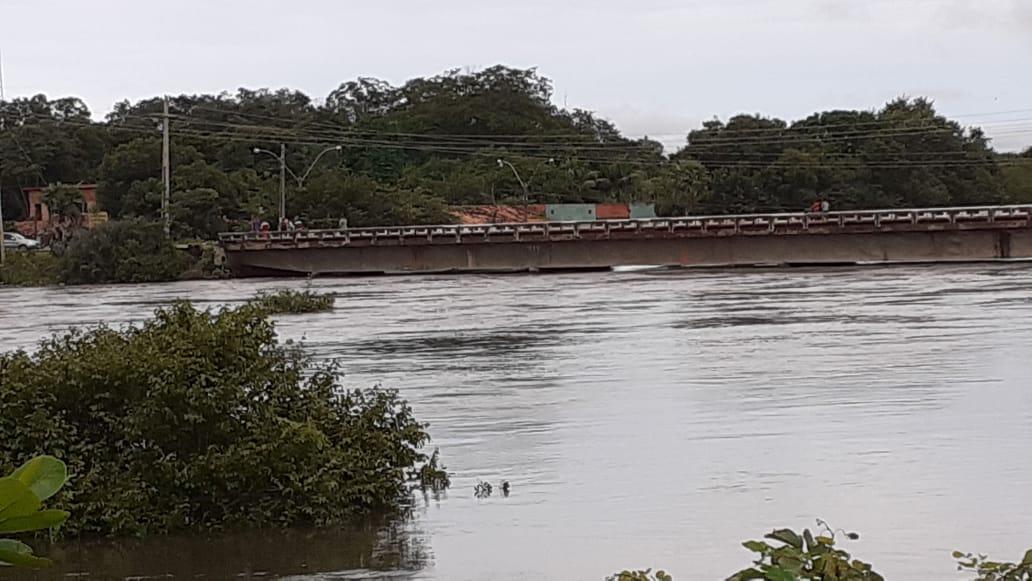 Três rios em cidades do Piauí atingem nível de alerta, aponta boletim nesta quarta