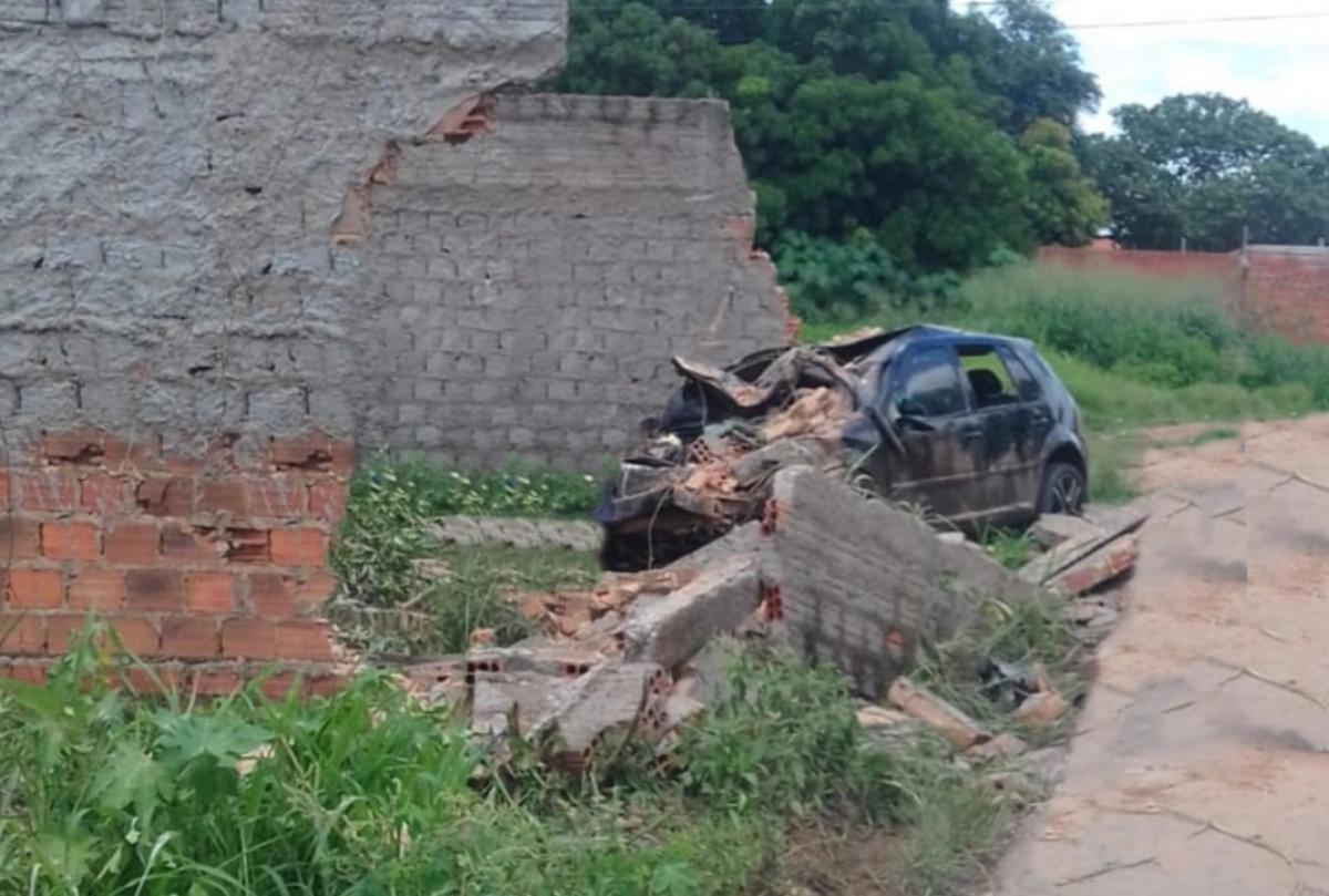 Homem morre após se envolver em acidente durante perseguição policial em Timon