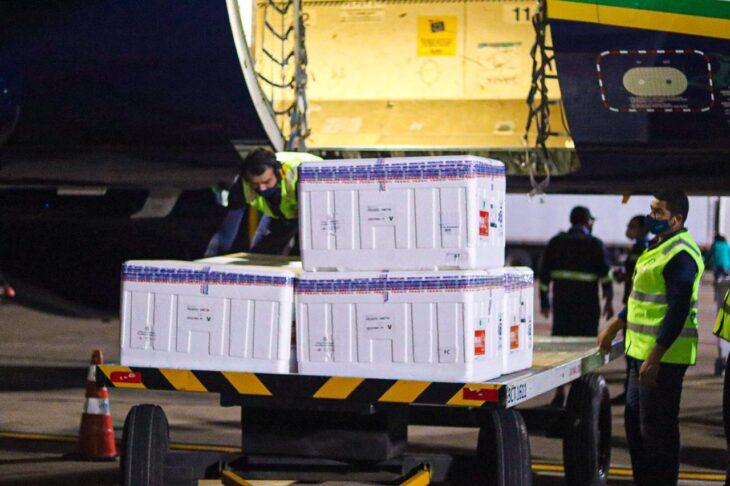 Lote com mais 129 mil doses chega ao Piauí para segunda dose de imunização