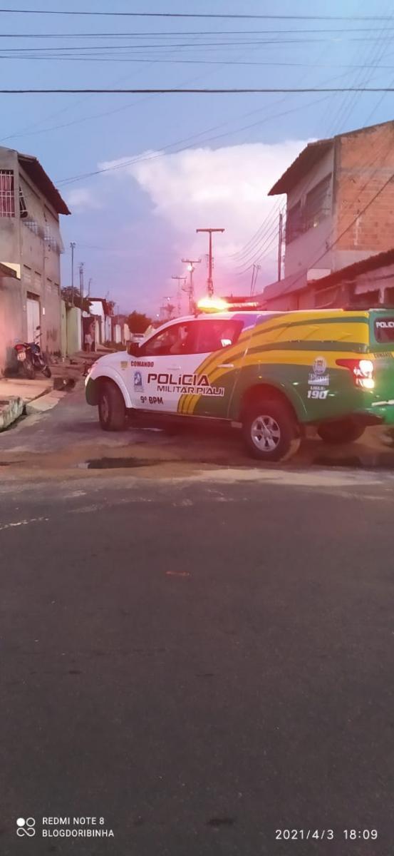 PM atira em vizinha durante briga com a esposa na zona norte de Teresina