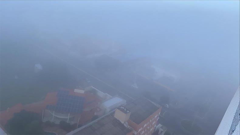 Teresina amanhece com forte neblina; temperatura registrada foi de 23º C