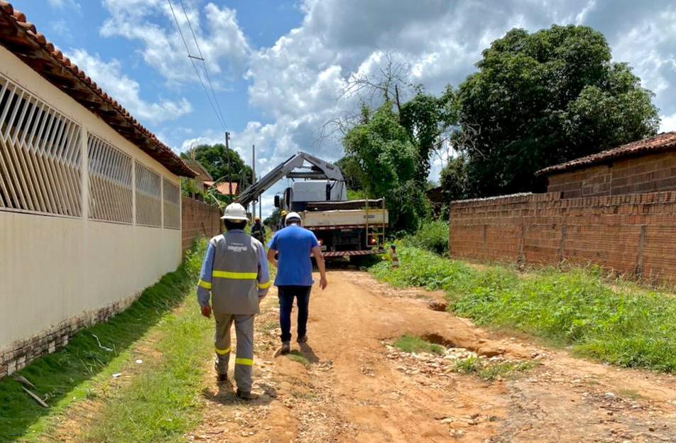 Rede elétrica de Avelino Lopes passa por regularização