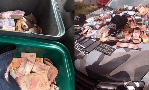 Justiça marca para abril audiência que ouvirá PMs acusados de desviar R$ 300 mil de assalto
