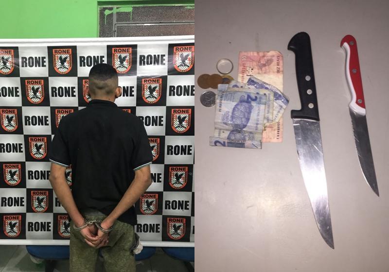 Assaltante de carro é preso na zona Sul de Teresina