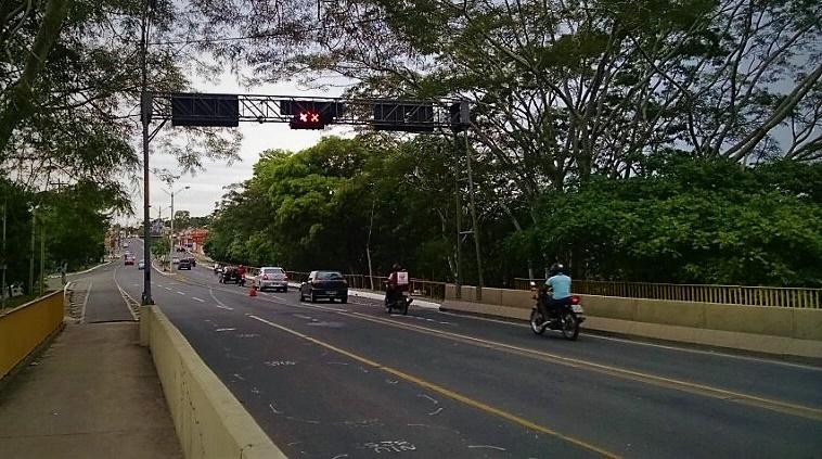 Alça da Ponte da Primavera é interditada para obra de manuteção nesta quinta-feira