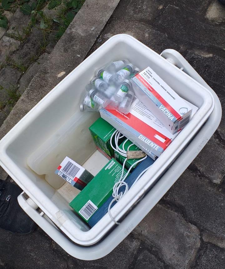 Veículo da Prefeitura de Timon é roubado com vacinas contra gripe