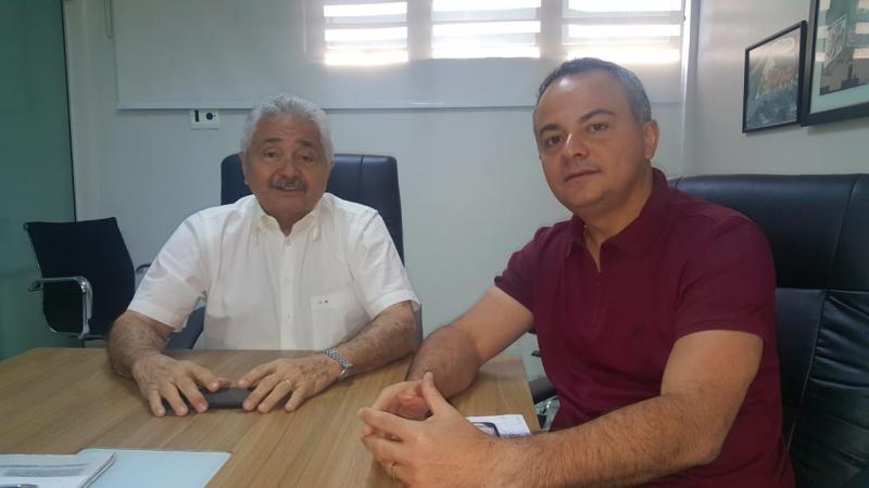 Valter Alencar e Elmano discutem formação de chapa majoritária