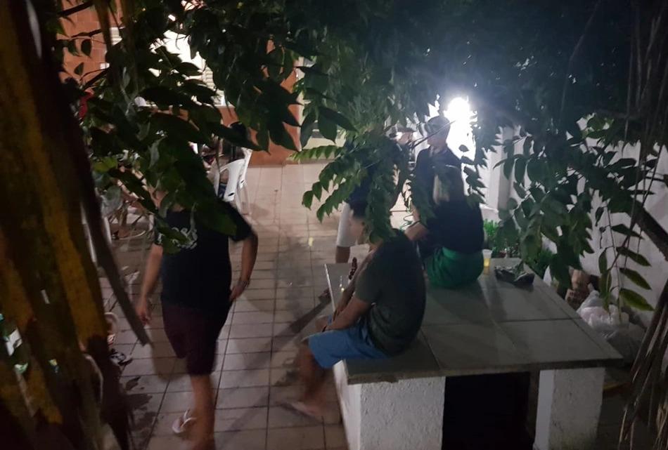 Em operação, Polícia acaba com festa clandestina em casa no centro de Teresina
