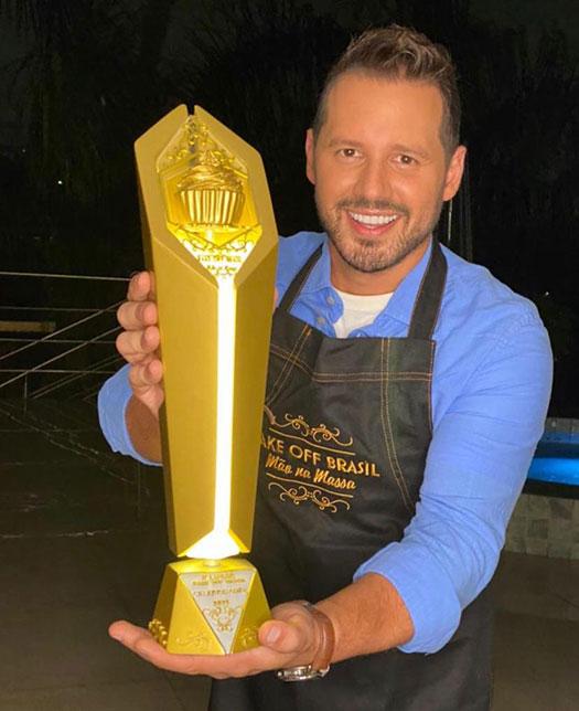 Dony de Nuccio vence Bake Off Brasil Celebridades
