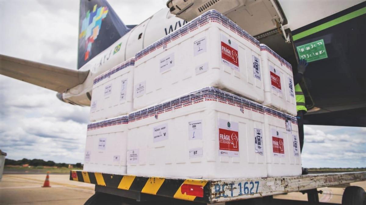 Piauí recebe lote com mais de 47 mil vacinas nesta sexta-feira