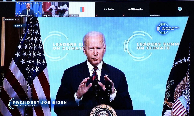 Biden faz apelo em cúpula para que mundo cumpra compromissos climático