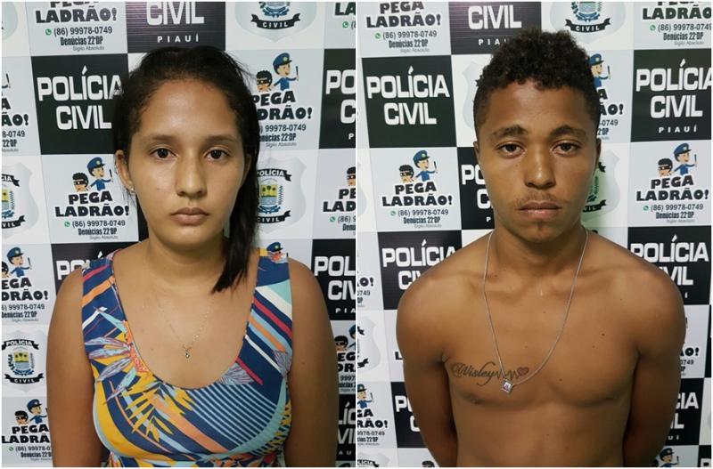 Polícia prende casal que vendia drogas na Santa Maria da Codipi