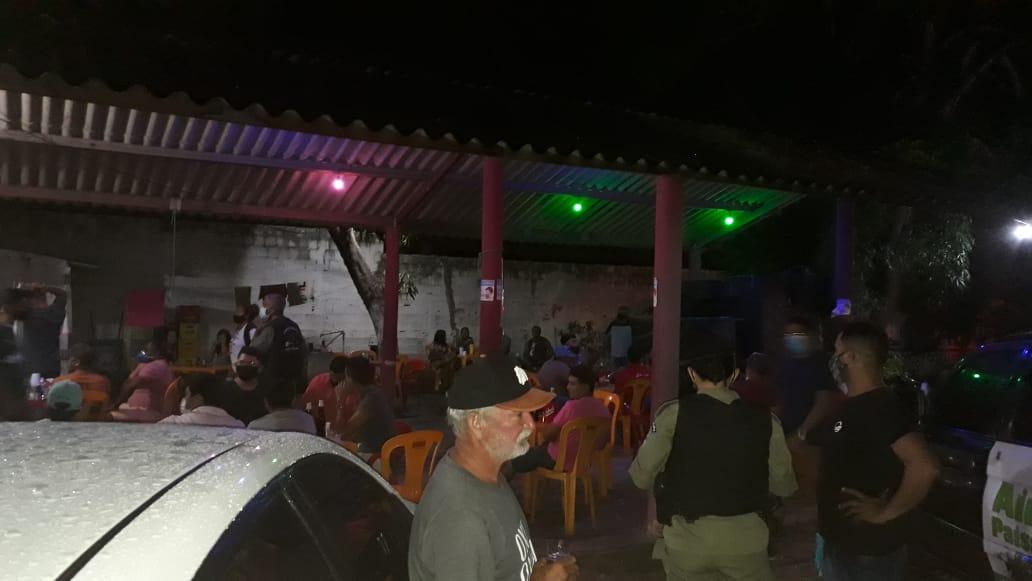 PM fecha bares que promoviam festas e aglomerações em Parnaíba