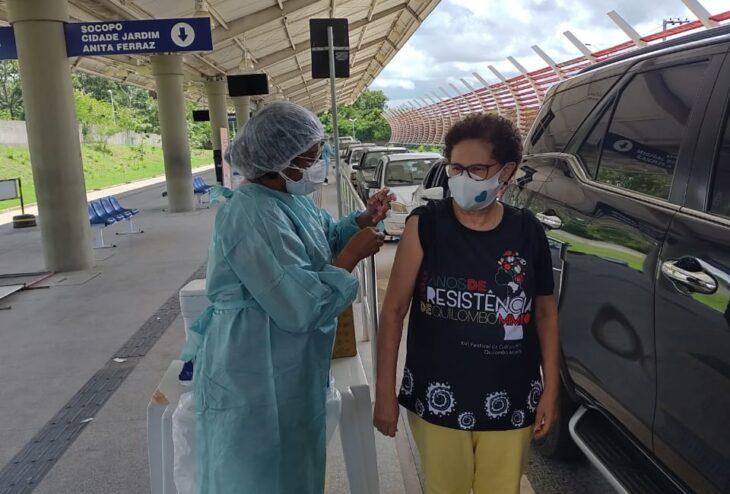 Vice-governadora do Piauí recebe 2ª dose da vacina contra a Covid-19