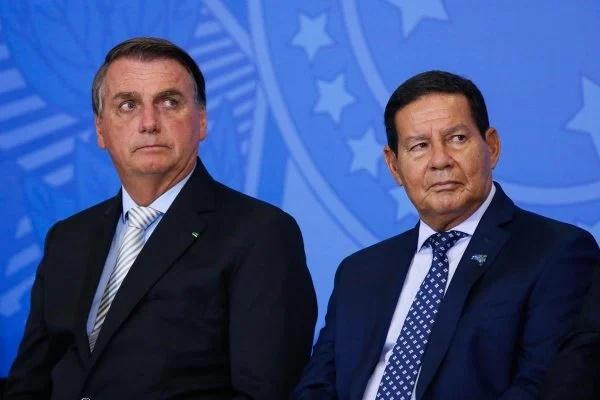 Mourão diz que Bolsonaro escolherá outra pessoa para vice em 2022