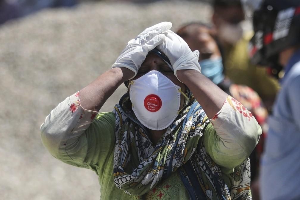 Índia bate novo recorde mundial de casos de Covid e supera 200 mil mortes