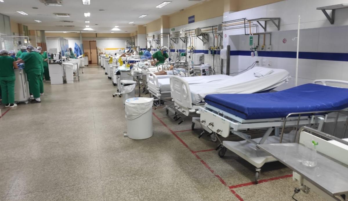 Fila de espera por leitos de UTI zera no Hospital de Urgência de Teresina