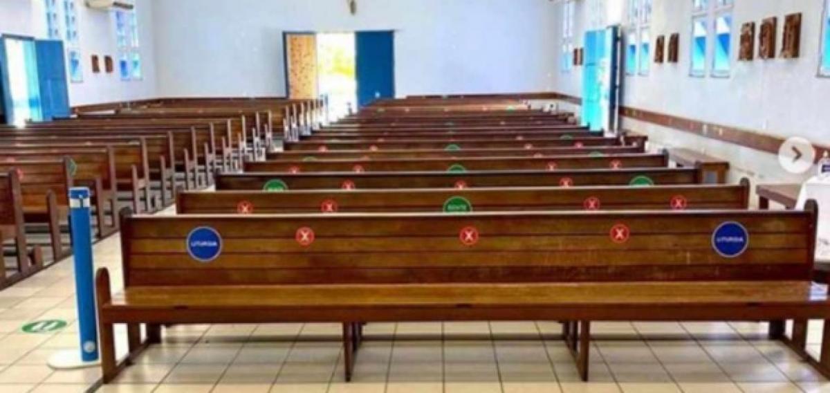 Dr. Pessoa autoriza o funcionamento de templos religiosos com 25% da capacidade
