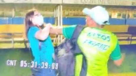 Jornalista é agredida por filmar confusão em jogo no Campeonato Piauiense