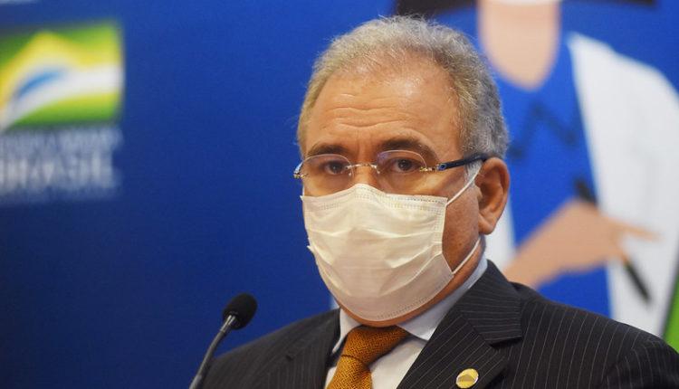 Ministro da Saúde, Marcelo Queiroga presta depoimento à CPI da Covid