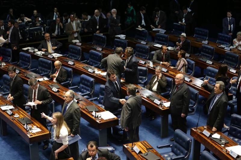 Senado funcionará em meio expediente nos dias de jogo do Brasil