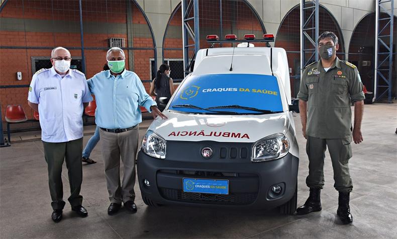 CBF e FFP entregam ambulância ao Hospital da Polícia Militar em Teresina