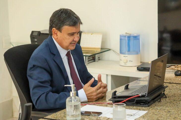 Wellington Dias trata sobre imunização em massa com Anvisa, governadores e senadores