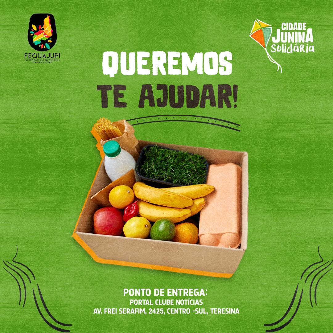 Cidade Junina Solidária: evento promove arrecadação de alimentos para classe do setor junino