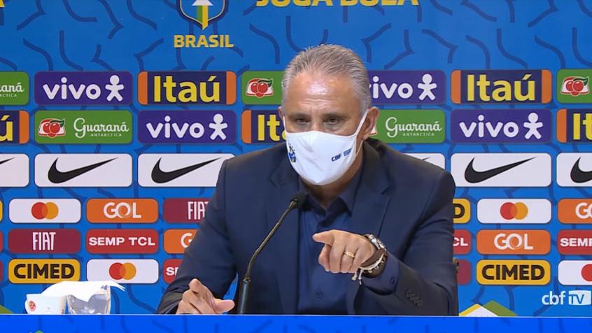 Tite convoca Seleção Brasileira para as partidas contra o Equador e o Paraguai