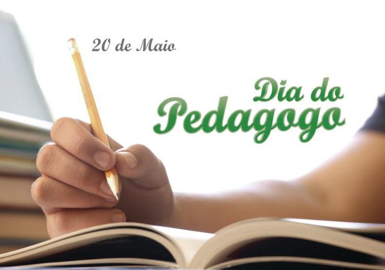 Hoje é Dia do Pedagogo
