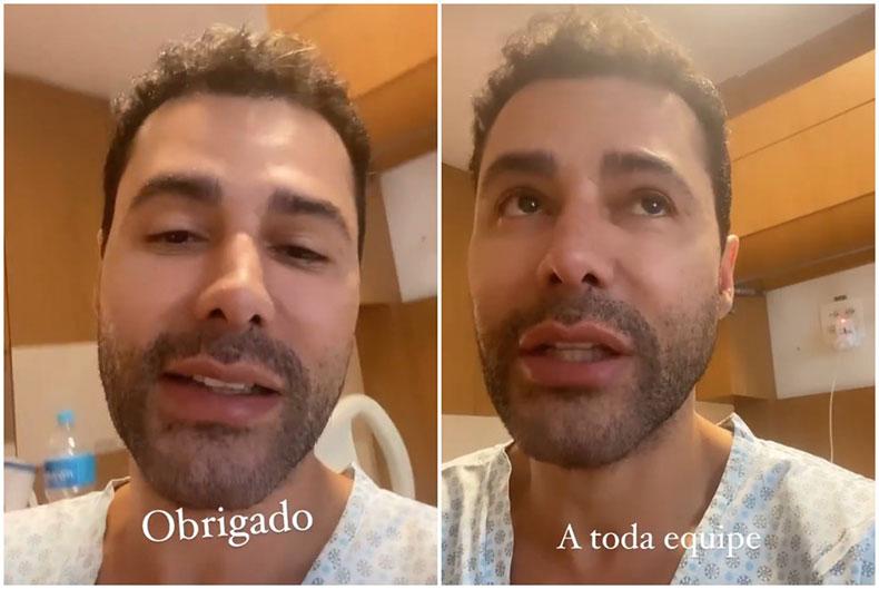 Rodrigo Sant'anna recebe alta após complicações da Covid: 'Muita emoção'