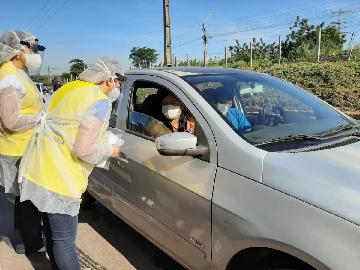 Barreira sanitária em Teresina detecta novos casos de covid-19