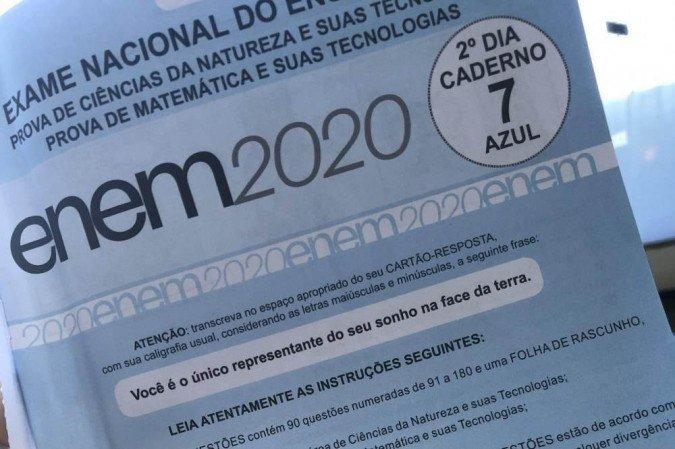 Ministro da Educação confirma Enem 2021 nos dias 21 e 28 de novembro