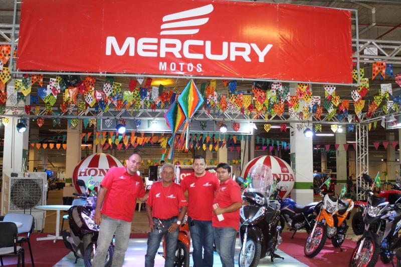 Mercury Motos leva os produtos para perto dos clientes no Cidade Junina