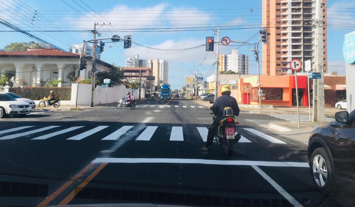 Strans implanta nova sinalização na Avenida Homero Castelo Branco
