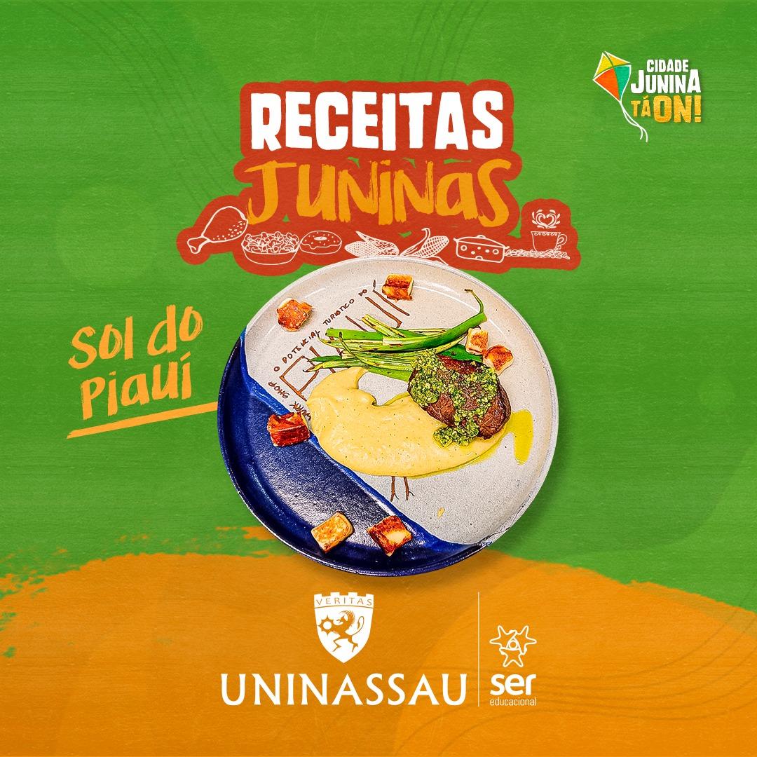 Alunos do curso de gastronomia prepararam receitas juninas para seu arraiá em casa; Confira