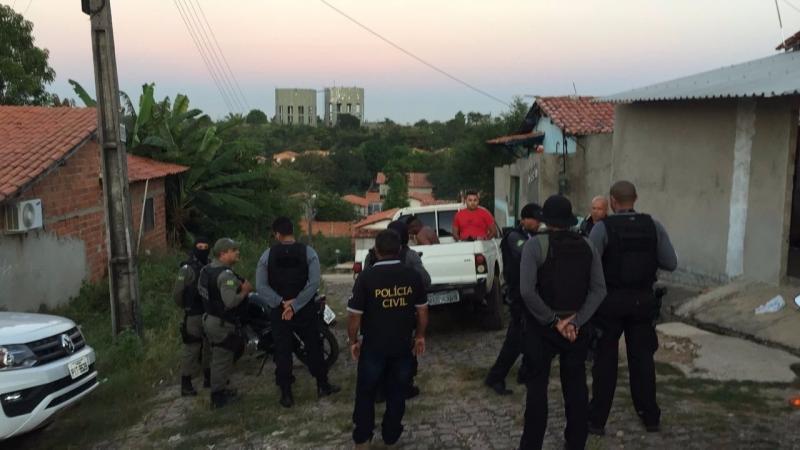 Operação da Polícia prende suspeitos de arrastões na Santa Maria da Codipi