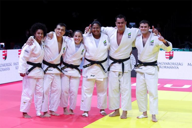Brasil ganha bronze por equipes mistas e fecha o Mundial de judô com três medalhas