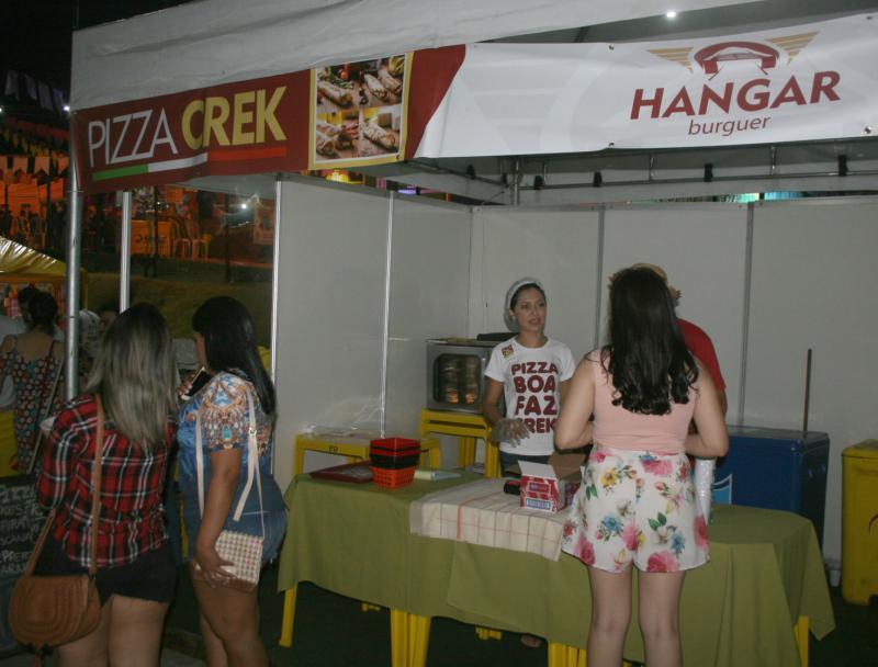 Pizza Creck: a mais crocante e saborosa está no Cidade Junina