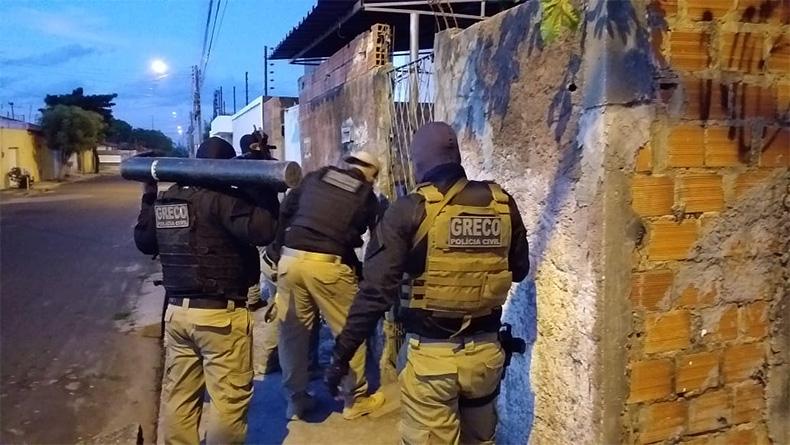 Operação da Polícia cumpre 34 mandados no Piauí contra o crime organizado