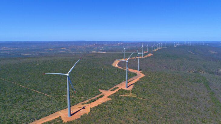 Empresa inicia operação comercial do maior parque eólico da América do Sul