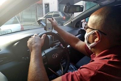 Motorista de alicativo é preso suspeito de aplicar golpes nos passageiros