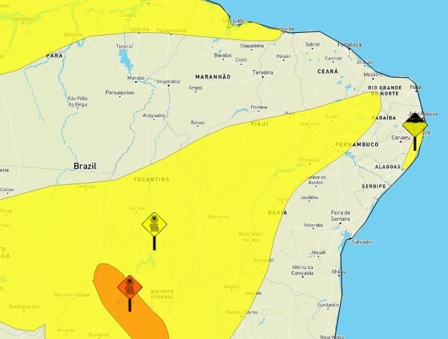 Inmet alerta para a baixa umidade do ar em 118 municípios do Piauí
