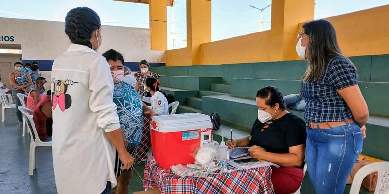 Prefeitura de Cocal realiza 'Arraiá da Vacinação' contra a Covid-19