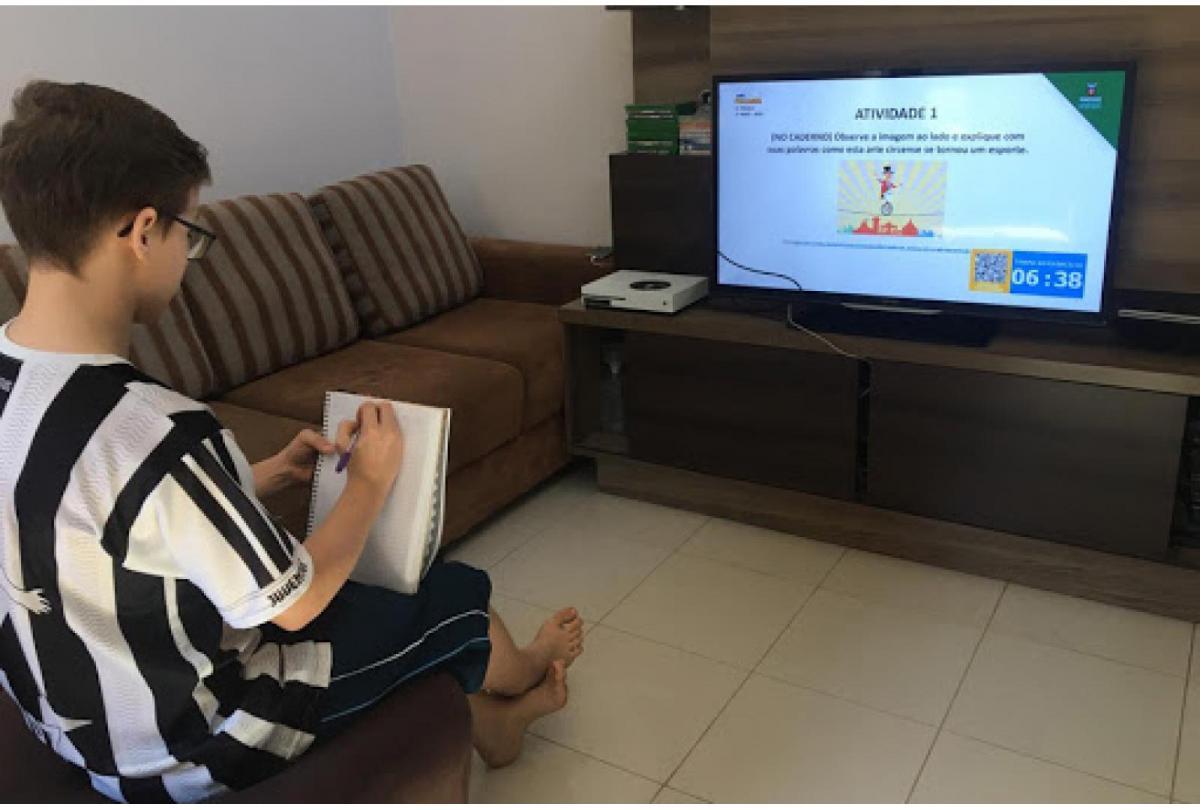 Rede Municipal de Teresina contará com aulas na TV a partir de segunda-feira (21)