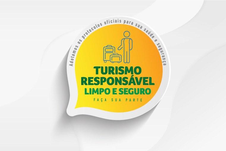 Selo 'Turismo Responsável' garante segurança para retomada do setor