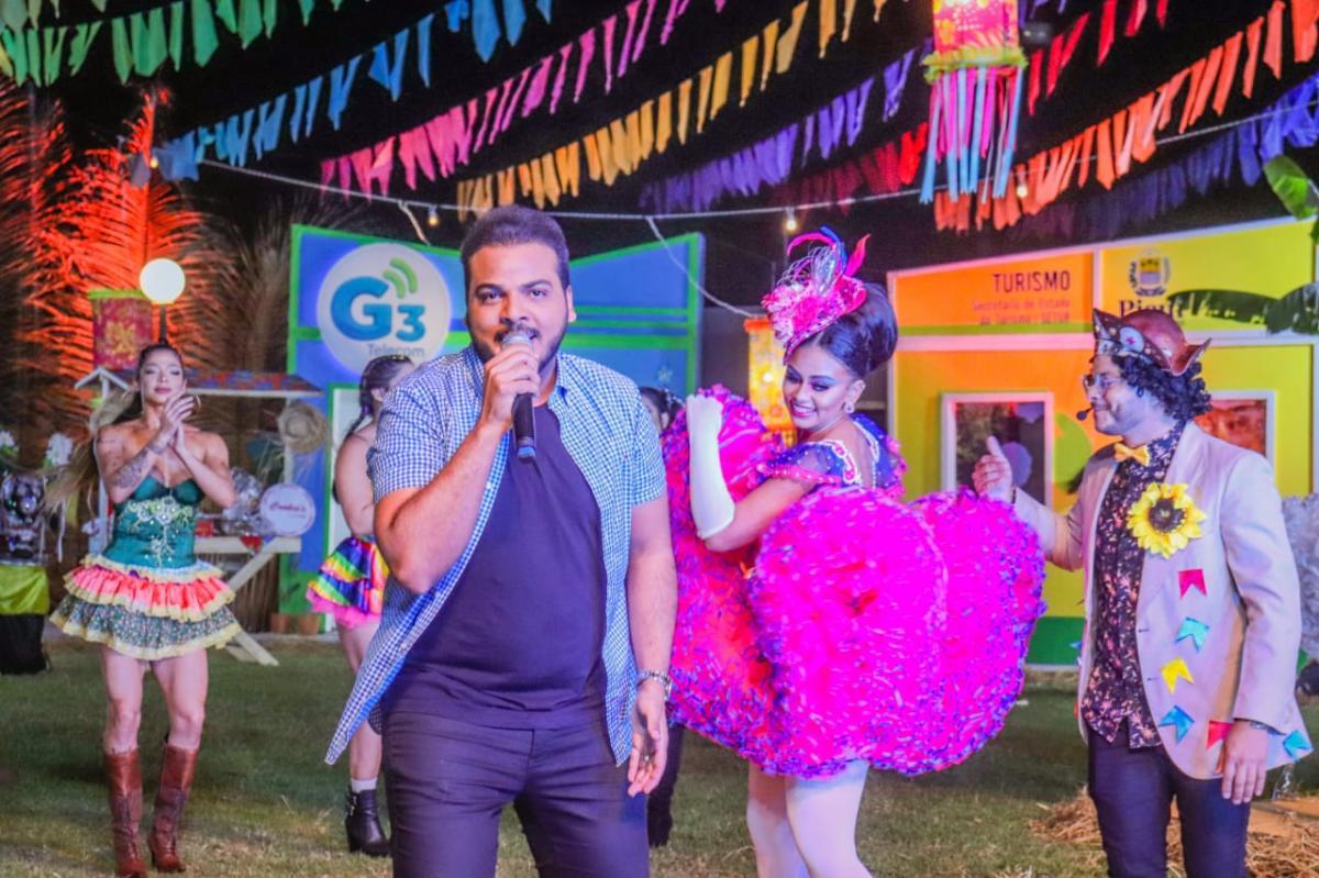 Cidade Junina Tá ON: Anderson Rodrigues e sorteios marcaram a segunda noite