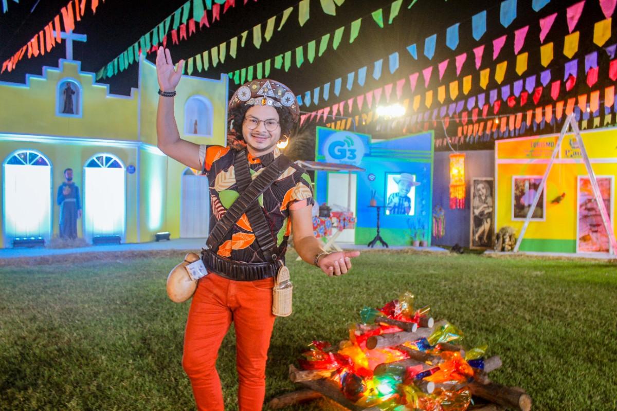 Cidade Junina Tá ON: primeira noite de transmissão do evento conta com muita música e interação