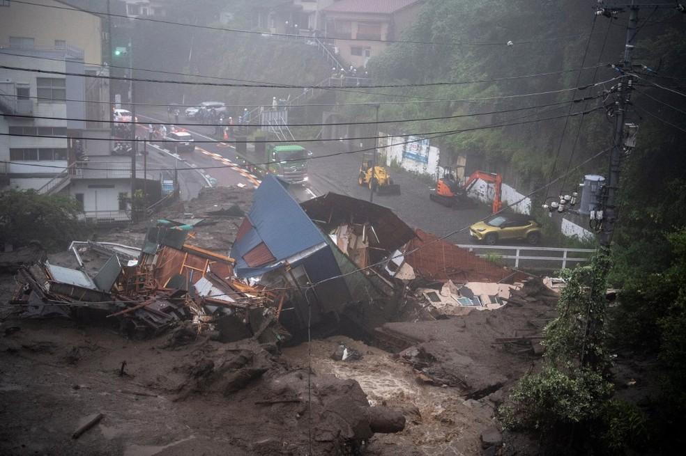 Deslizamento de terra deixa ao menos 19 desaparecidos no Japão