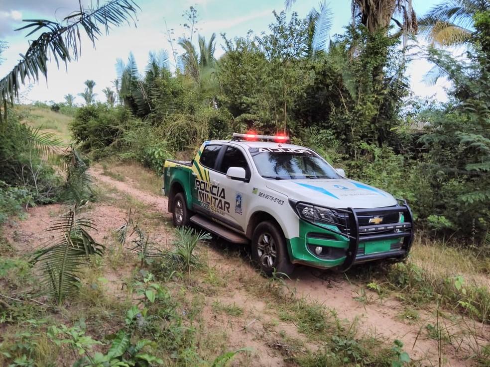 Polícia Militar prende suspeito de matar a esposa em Elesbão Veloso
